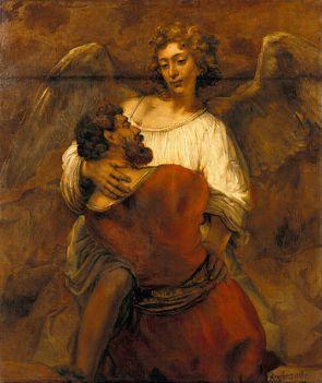 jacob-wrestling-rembrandt