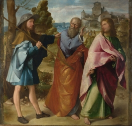 Altobello_Melone_-_The_Road_to_Emmaus_-_Google_Art_Project