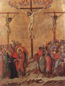 Crucifixion - Duccio