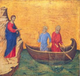 Calling the first disciples - Duccio