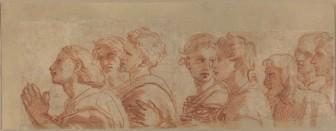 Apostles - Eight apostles (Raphael, c.1516)
