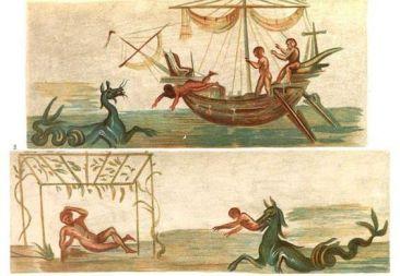 Jonah - Roman fresco