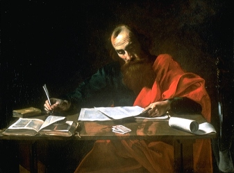 file22-saint_paul_writing_his_epistles22_by_valentin_de_boulogne